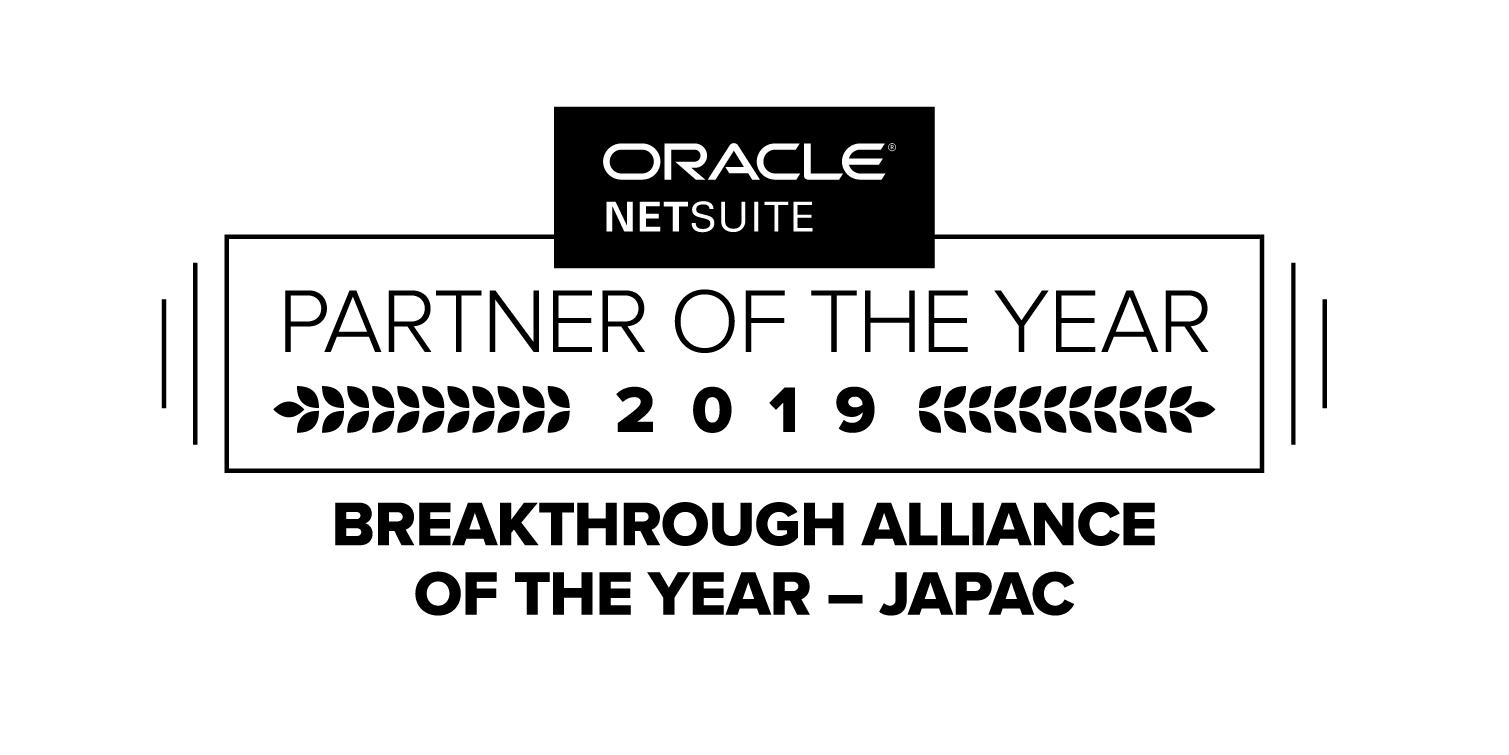 NetSuite JAPAC Partner Breakthrough Alliance Awarded to Killiney Asia